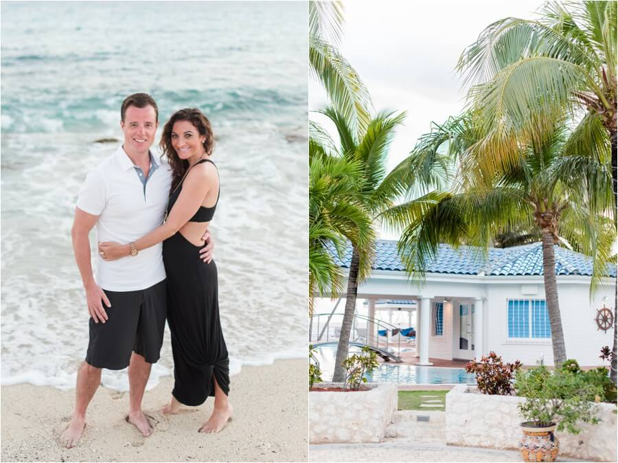 Caribbean sunset engagement_0002