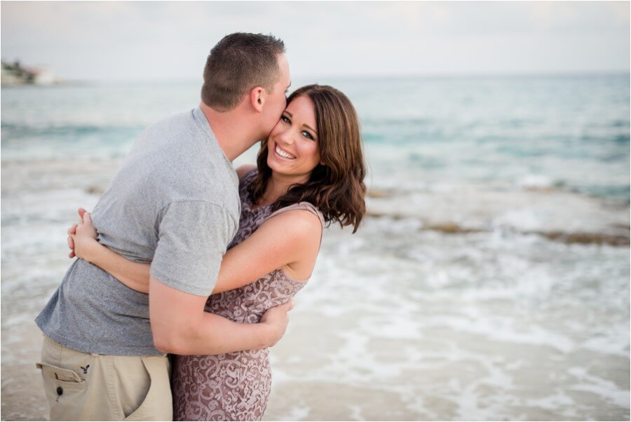 Caribbean sunset engagement_0006