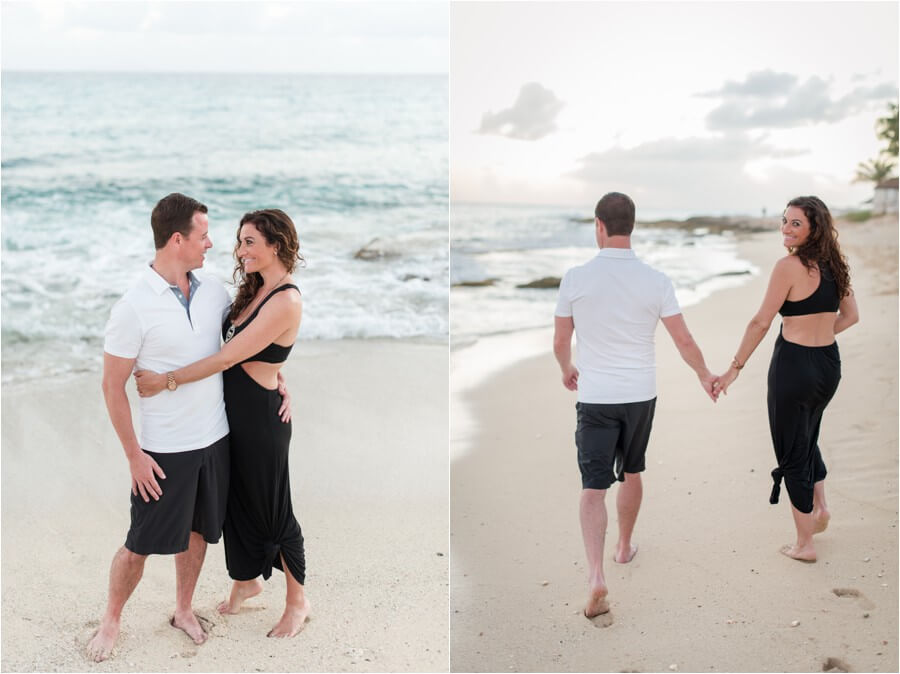 Caribbean sunset engagement_0009