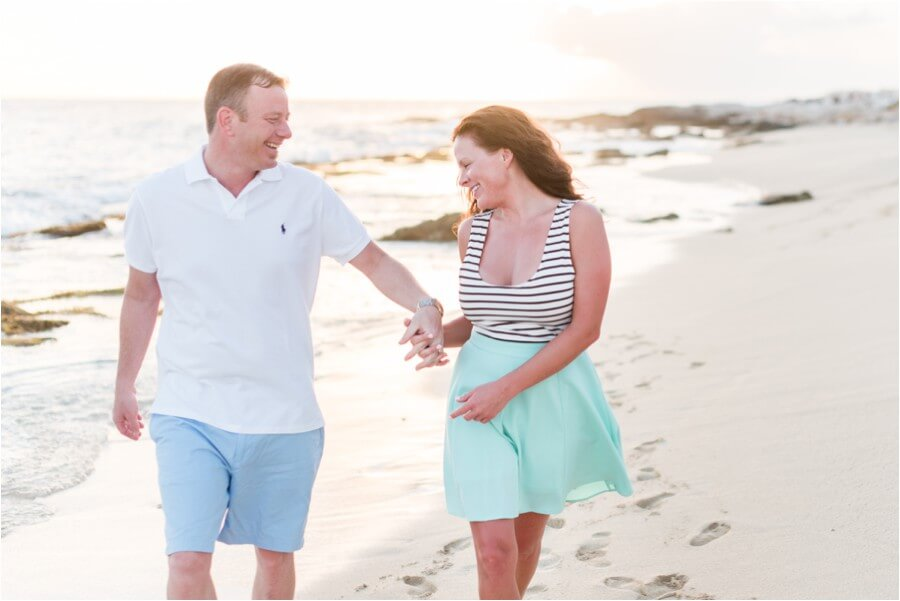 Caribbean sunset engagement_0011
