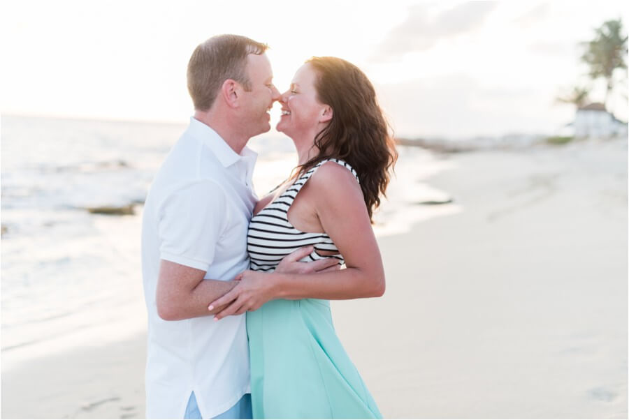 Caribbean sunset engagement_0016