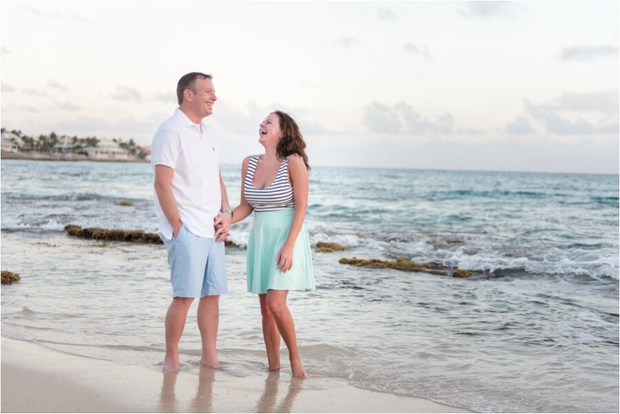 Caribbean sunset engagement_0017