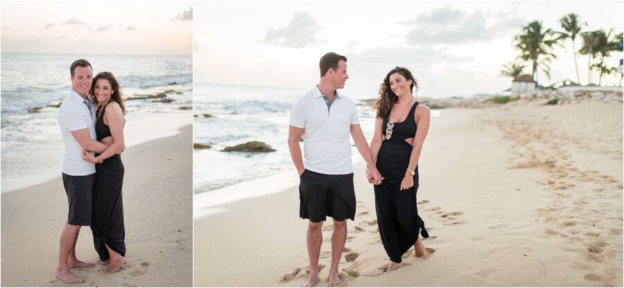 Caribbean sunset engagement_0019