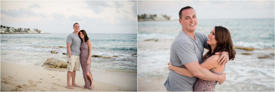 Caribbean sunset engagement_0025