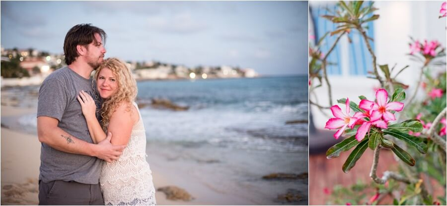 Caribbean sunset engagement_0026