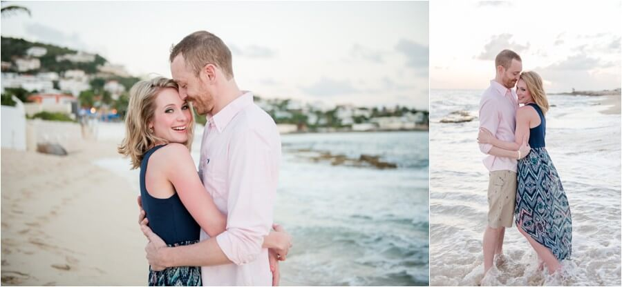 Caribbean sunset engagement_0034