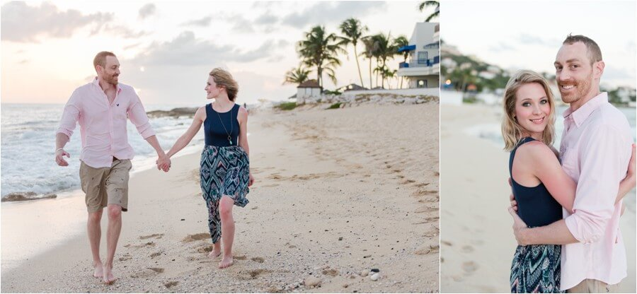 Caribbean sunset engagement_0040