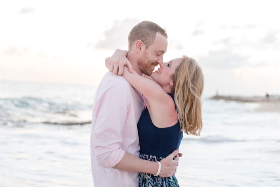 Caribbean sunset engagement_0041