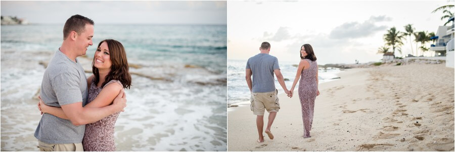 Caribbean sunset engagement_0042