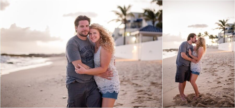 Caribbean sunset engagement_0047