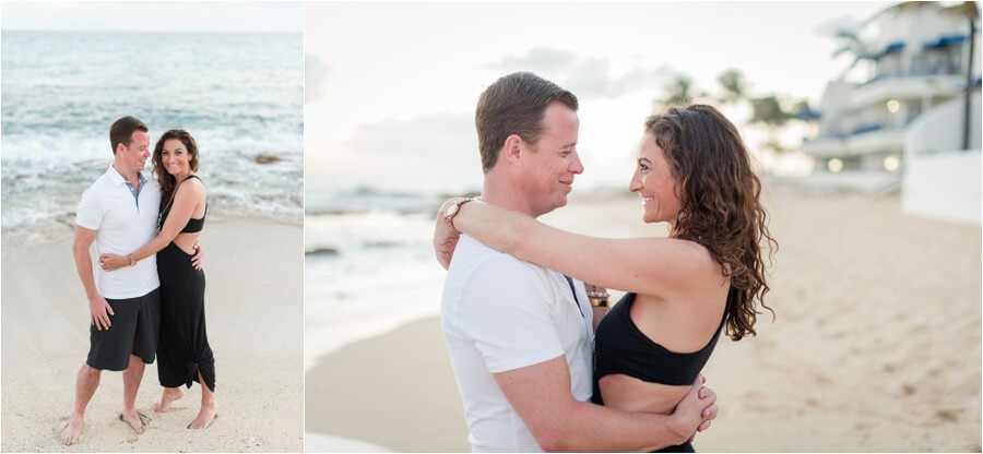Caribbean sunset engagement_0048