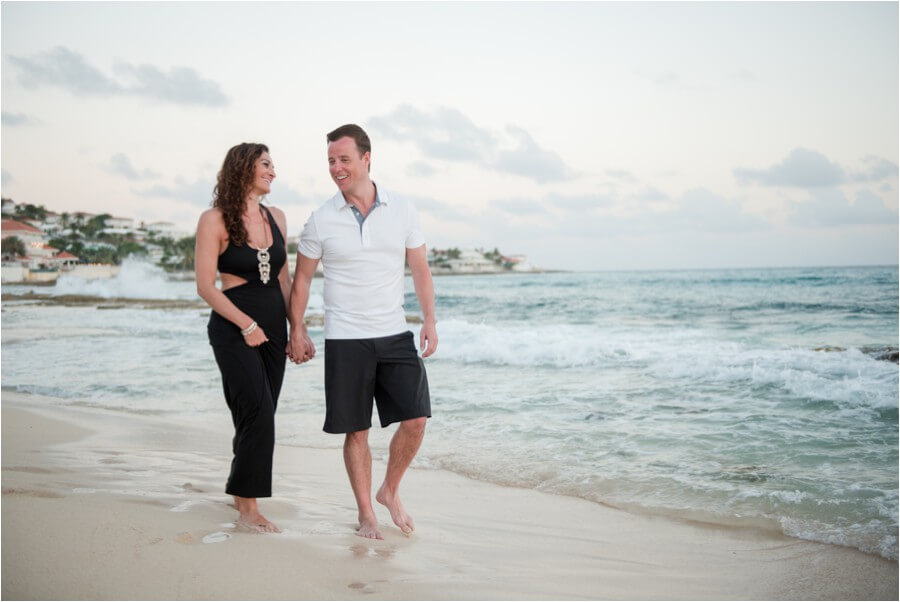 Caribbean sunset engagement_0049