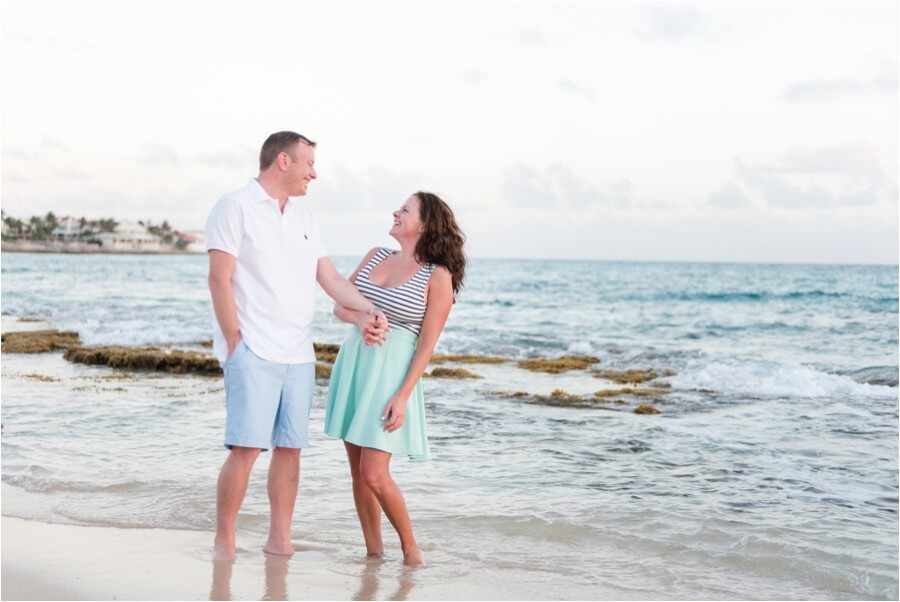 Caribbean sunset engagement_0050
