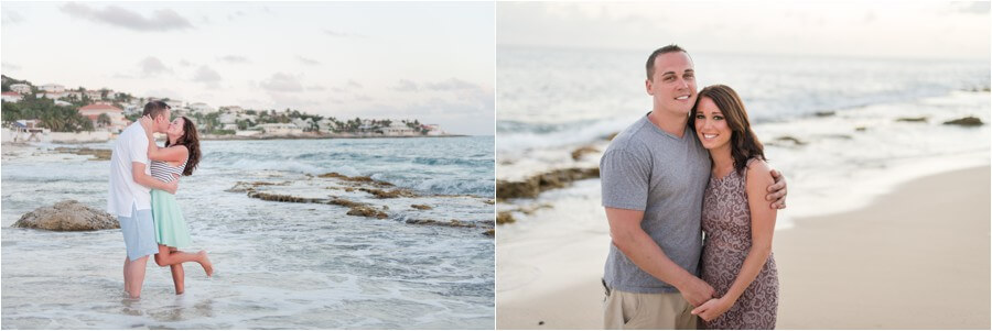 Caribbean sunset engagement_0052
