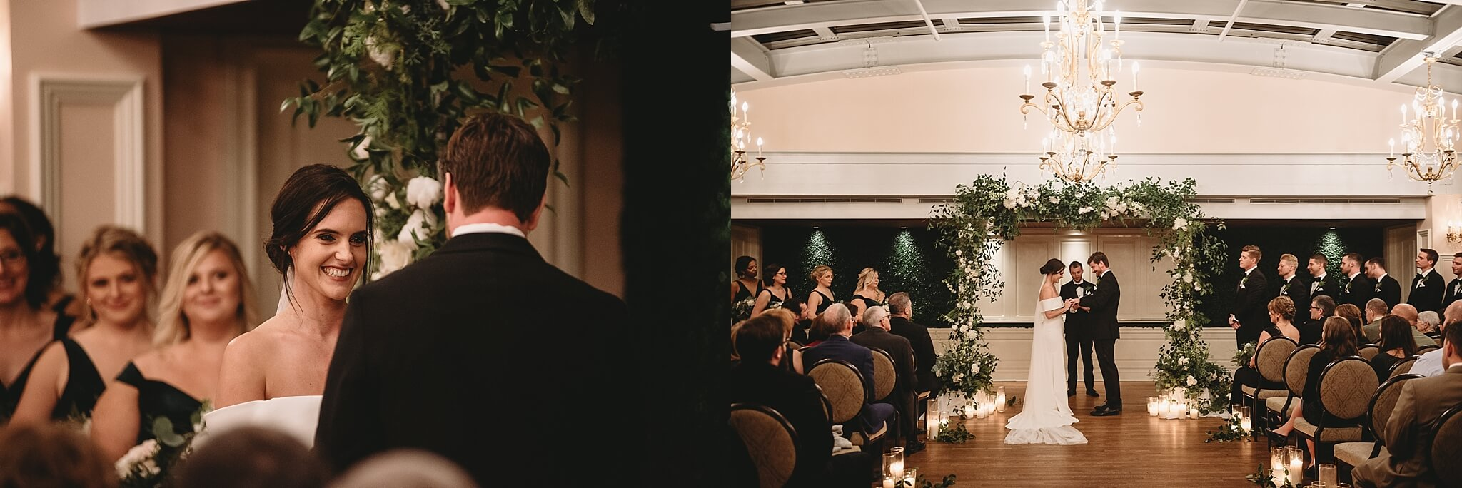 The Madison Club Wedding Ceremony